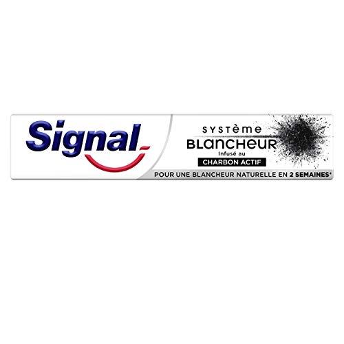 Signal Dentifrice blancheur Charbon Actif,...