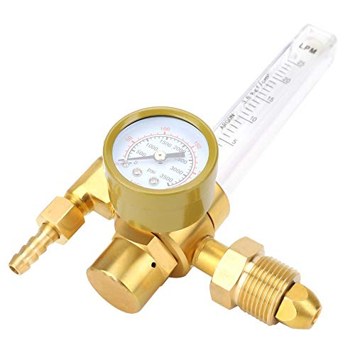 Reductor de presión de latón, medidor de flujo, regulador de gas, ajuste manual, reductor de presión de gas, botellas de argón, soldadura TIG