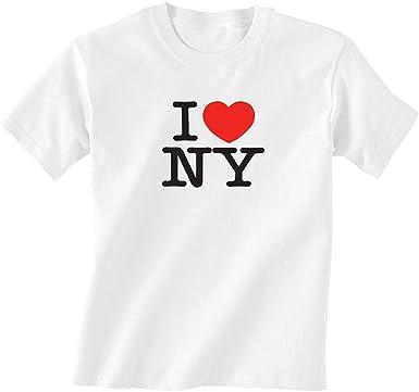 Camiseta infantil I Love New York - Camiseta clásica para niños I Heart NY