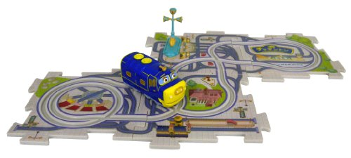 Blue Star running Chuggington puzzle Town (japan import)