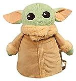 RVTYR 40 * 35 cm Luz Green Star Wars Yoda Muñeca Mochila PP Cotton Relling Light Weight Conveniente ...