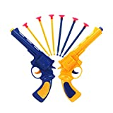 Toyvian Jouet extérieur de tireur de Jeu en Plein air d'amusement de Revolver d'enfants de Pistolet de Balle d'aspiration