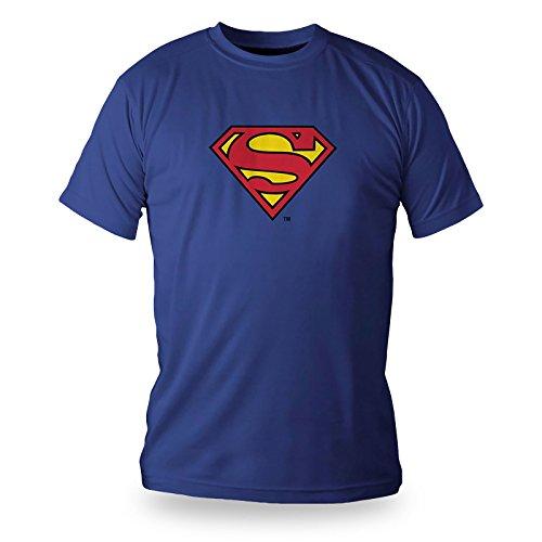 SD toys - T-Shirt Tube Superman Logo Taille XXL - 8436546891581