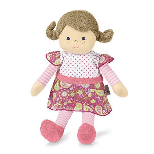 Sterntaler 3031810 Anziehpuppe Gesa, Mit Klettverschluss, Alter: Für Babys ab der Geburt, 33 cm, Rosa