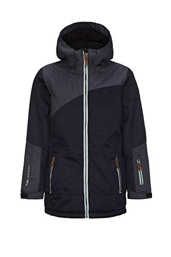 Killtec Adetta Jr Ski-jack voor meisjes, functionele jas met capuchon en sneeuwvanger
