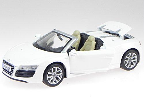 Audi R8 Spyder weiss Modellauto Maisto 1:24