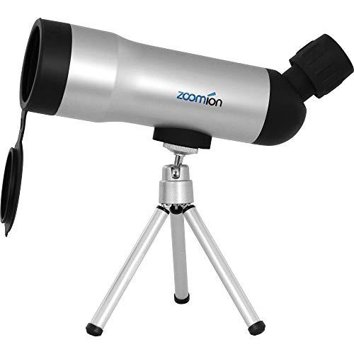 Zoomion Fox cannocchiale 20x50mm per Birdwatching e tiro Sportivo - Compatto e Resistente agli Spruzzi con treppiede, Rivestimento Lente, Supporto