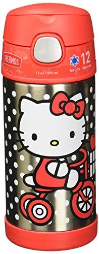 Thermos F4016VI6 Funtainer Flasche, 340 ml, Violett Hello Kitty 12 Ounce hello kitty