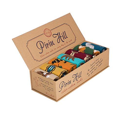Pirin Hill - Calcetines para mujer (7 colores, algodón)