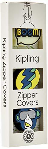 Kipling BTS PULLERS MIX Etichetta per Valigie, 4 cm, 0.1 l, Multicolore (Boom Light Monk)
