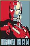 Tainsi Asher Gift IronMan Hope Marvel Poster Captain