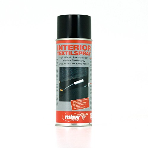 MHW Color-It Textil Styling Spray - Schwarz - 1x400ml