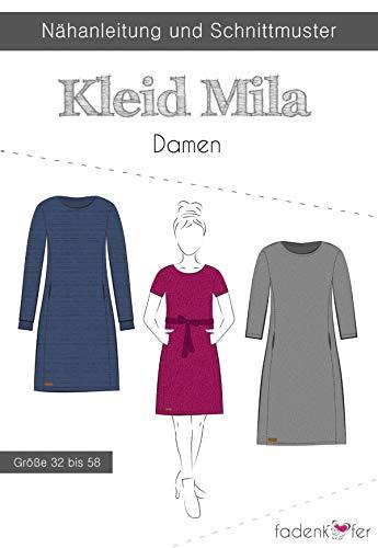 Schnittmuster und Nähanleitung - Damen Kleid - Mila