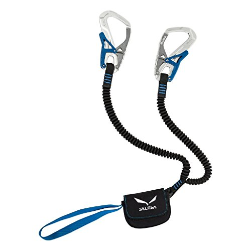 Salewa Set Via Ferrata Ergo Core Klettersteigset, Silver/Royal Blue, One Size