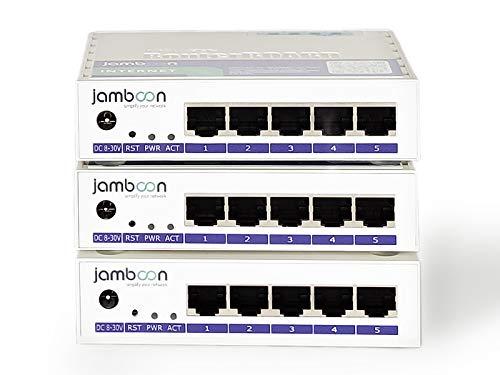 Jamboon Plug&Play Homeoffice 2.0 - Kit de iniciación para 2 empleados de oficina en casa, router VPN