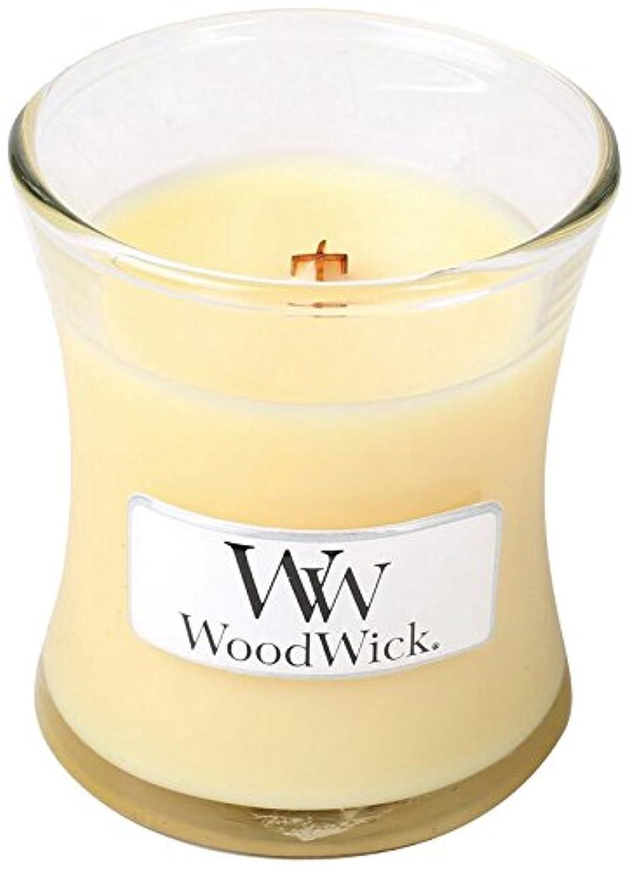 コンプライアンス交換つぶすWoodWick ウッドウィック ジャーキャンドル 50(レモングラス&リリー) 1個