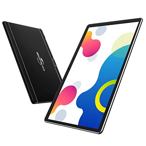 Tablet 10 Inch 3G Phone Call/WiFi Tablet with Dual Sim Card Slot Android 9.0 Tablet PC 32GB Storage (128 GB Expandable) 5MP Camera, FM, Bluetooth, GPS, HD Touchscreen (Black)