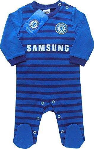 Brecrest Fashion Chelsea Football Club CH310 Ensemble de Pyjama, Bleu, 9 Mois (Taille Fabricant: 6-9 Months) Bébé garçon