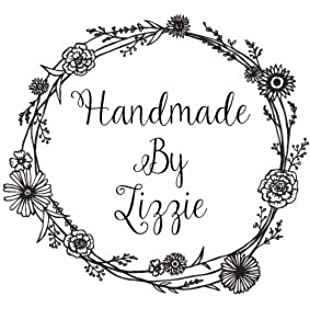 Customer reviews Personalised Handmade By Stamp - Flower Border:Eventmanager