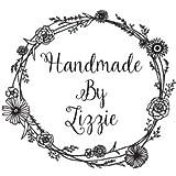 Fairy Dust PersonalisierterStempel mit Aufschrift 'Handmade By' und Blumenbordüre