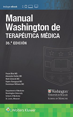 Manual Washington de terapéutica médica, 35.ª (Lippincott Manual) (Spanish Edition)