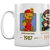 Pyramid International super Mario (date) ufficiale inscatolato ceramica tazza da tè/caffè, carta, multicolore, 11x 11x 1.3cm