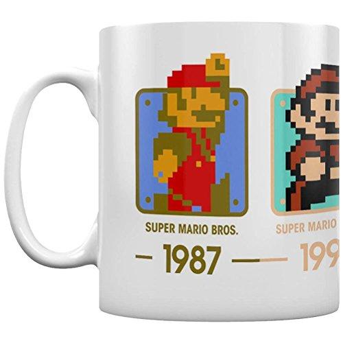 Pyramid International super Mario (date) ufficiale inscatolato ceramica tazza da tè/caffè, carta,...