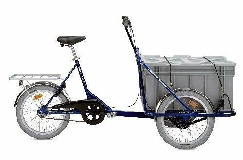 Helkama Trans 2000 Industriefahrrad - Dreirad - Lastenrad blau