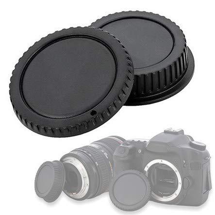 KIT TAPPO corpo macchina retro obiettivo COVER rear lens body cap compatibile con CANON EOS 5D 6D 760D 8000D 750D 1200D 70D 100D 700D 650D 60D 60DA 600D 1100D 550D 500D 50D 1000D 450D 400D 350D