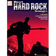 Hal Leonard Best Hard Rock Songs - Guitarra con notas y pestañas