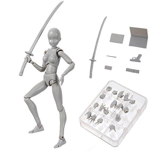 Starmood Body Chan & Kun Muñeca Masculina Femenina DX Set PVC Movebale Figura de acción Modelo para Regalos SHF
