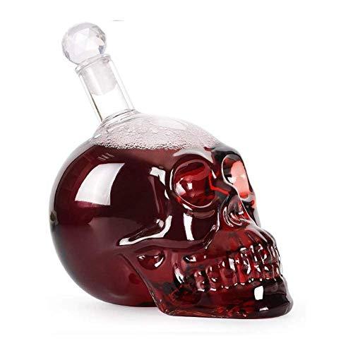 Déconne de création Forme de Whisky Forme Artisanat Bouteille Verre Verre Verre Craft Vigne Porte-bouteille Vodka vin créatif pour (Color : Transparent, Size : 20x11cm)
