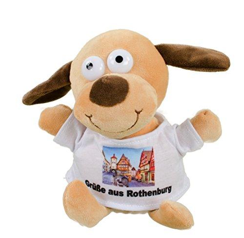 Teddys Rothenburg, Laber-Hund, 16 cm, nachsprechen, Chat, Plüschtier, Teddy