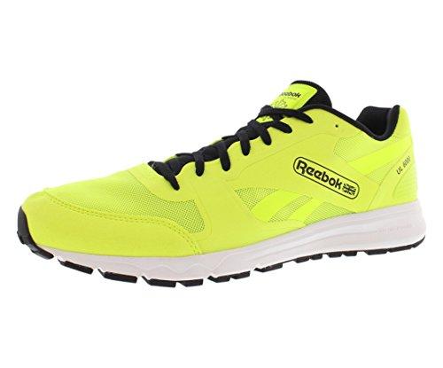 Reebok Herren UL 6000 Fashion Sneaker, Gelb (Solargelb/schwarz/weiß), 41 EU