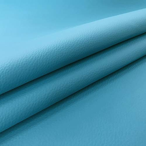 Tejido suave de Ecoleather, cuero sintético vendido por medio metro, a partir de 50 CM (largo) x 140 CM (ancho fijo); 1 qty=50cm; 2qty=100cm - para muebles, sofás, sillas, etc.