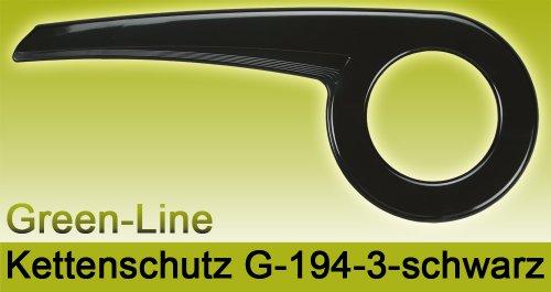 DEKAFORM Kettenschutz Green-Line 194-3 für 40 / 42 Zähne * schwarz