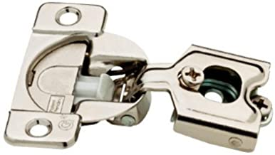Liberty Hardware H1530SL-NP-U1 Pacote com 10 44; Dobradiça macia com sobreposição parcial