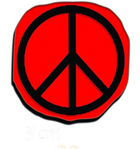 Magic Tattoo Pierre à Tatouage Temporaire - Peace and Love (Pierre seule sans recharge 20 ml et encreur disponibles sur amazon magic tattoo)