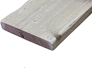 OLD ASHIBA(足場板古材) フリー板 厚35mm×幅200mm×長さ660mm 無塗装 ※DIY用素材