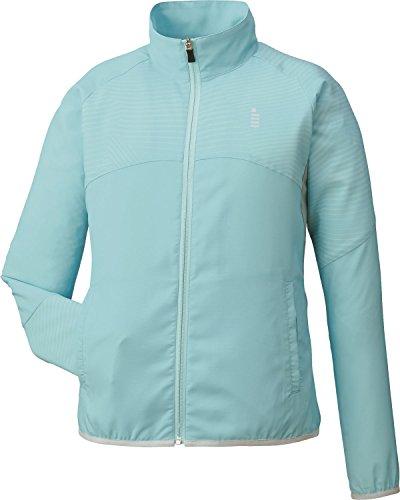 ゴーセン(GOSEN) レディース バドミントン ソフトテニス ライトウインドジャケット Y1701 ミント(40) M