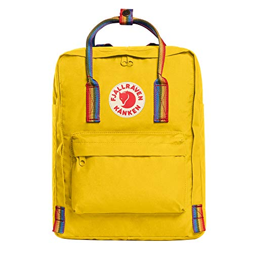 Fjällräven Kanken Rainbow Rucksack 38 cm warm yellow-rainbow pattern