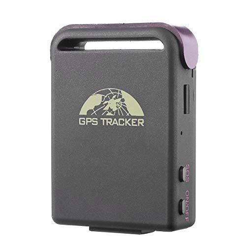 Localizador GPS portatil Personal Llavero Mascotas Personas Mayores Alzheimer Posicionamiento Remoto Conocer posicion Desde movil Uso para Personas Mayores Alzheimer Coches vehículos, (TK102)