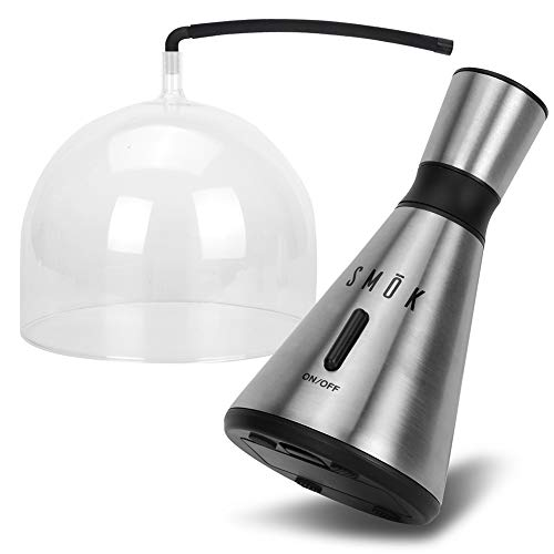 Modern Home SMŌK Food and Drink Smoke Infuser w/Clear Dome Enclosure