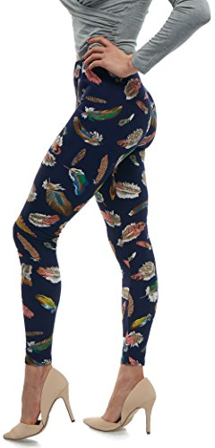 Lush Moda Extra Soft Leggings with Designs- Variety of Prints - 57F