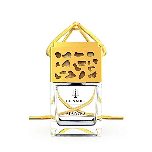 Musc Mango Parfum de voiture 6 ml – El-Nabil – Désodorisant élégant avec bois – Diffuseur – Parfum de voiture premium – avec huiles essentielles