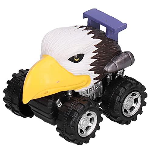 Liujaos Juguete De Coche De Simulación De Modelo Animal, Juguete De Vehículos De Coche De Tracción hacia Atrás Duradero Y Seguro para Fiestas para El Hogar((Águila))