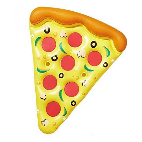 WH-IOE Piscina Casa Flotante Inflable Pizza for Adultos Flotante Color de la...