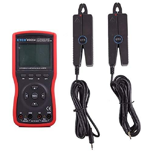 DXX-HR Doppelklammer/dreiphasig Intelligente Doppelklammer Digitale Phase Volt-Ampere-Meter ETCR4000A Präzisions-Messgerät