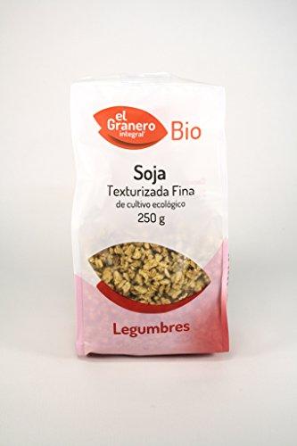 Soja texturizada fina bio, 250 g