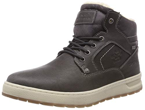 TOM TAILOR Herren 5881602 Klassische Stiefel, Grau (Coal 00013), 43 EU